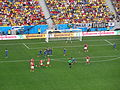 Switzerland and Ecuador match at the FIFA World Cup 2014-06-15 DSC06424 (14243932660).jpg
