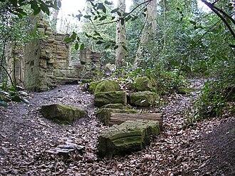Sydenham Hill Wood - Image: Sydenham Hill Wood folly