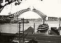 Sydney Ferry KULGOA leaving Lavender Bay wharf 19 July 1930.jpg