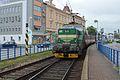 Tábor, nádraží, vlak z Bechyně.jpg