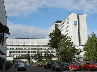 Hospital in Tampere, FI