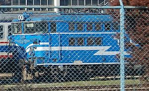 TCDD E 40000 - A TCDD E40000 at Haydarpaşa yard.