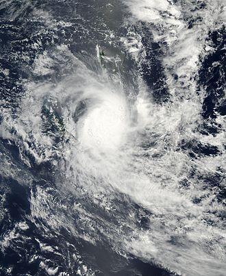 Cyclone Beni - Beni approaching New Caledonia