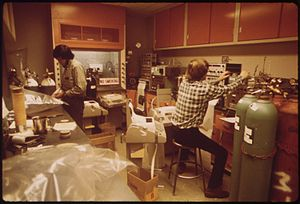 California Air Resources Board - California Air Resources Board Laboratory, Los Angeles, in 1973