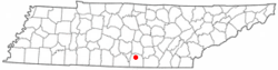 Location of Estill Springs, Tennessee