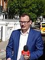 TVP Polonia journalist, 2017 Parsons Green bombing.jpg