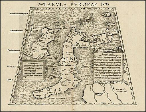 Tabula Europae I (1552)