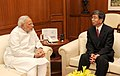 Takehiko Nakao, President of the Asian Development Bank, meets PM Modi.jpg