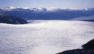 Taku Glacier - Taku Glacier in 1992