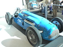 Photo d'une Talbot-Lago T26C.