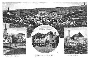 Talheim, Heilbronn - Image: Talheim Ansichtskarte