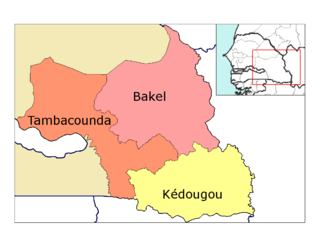 Former location in the Tambacounda Region