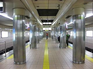 Tanimachi Rokuchōme Station Metro station in Osaka, Japan
