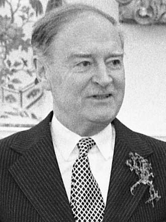 Leader of Fine Gael - Image: Taoiseach Liam Cosgrave Patricks Day 1976