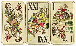 Strohmandeln Austrian two-hand card game