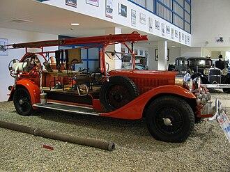 Tatra 70 - Tatra 70 fire engine