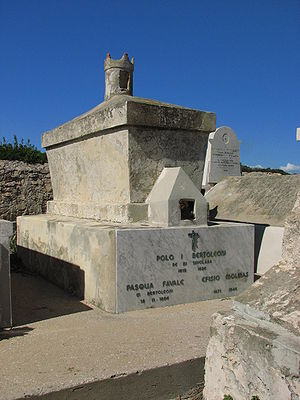 Kingdom of Tavolara - Tavolara, the royal grave.