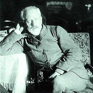 Death of Pyotr Ilyich Tchaikovsky - One of the last photos of Pyotr Ilyich Tchaikovsky.