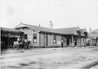 Te Aro railway station railway station