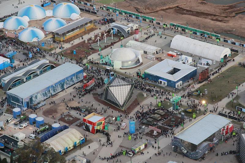 JUEGOS OLIMPICOS DE LA JUVENTUD  - BUENOS AIRES 2018 800px-Tecn%C3%B3polis_desde_el_cielo