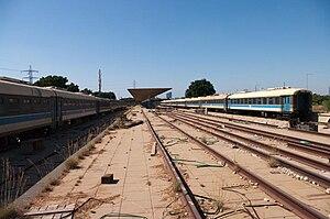 Tel Aviv South railway station - Tel Aviv South 1970 site photographed in 2008