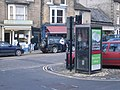Telephone box in Market Place, Barnard Castle - geograph.org.uk - 832036.jpg