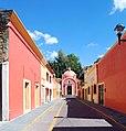 Templo de San Nicolás de Tolentino calle Xicohtencatl.JPG