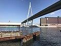 Tempozan Bridge near Tempozan Ferry Terminal.jpg