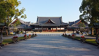 Tenrikyo Church Headquarters Main headquarters of the Tenrikyo religion