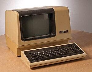 Headless computer - a real terminal (DEC VT100)