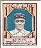 Tex Erwin, Brooklyn Dodgers, baseball card portrait LCCN2007683839.jpg