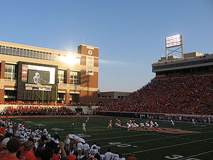 Oklahoma State Cowboys and Cowgirls - Texas at OSU, 2007