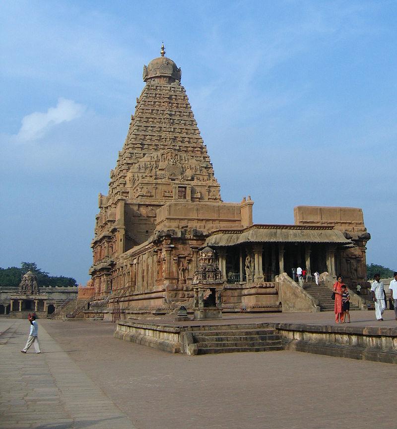 Brihadeeswarar Temple World heritage site in India