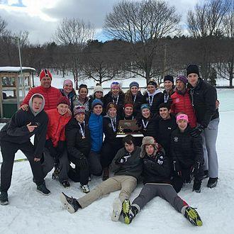 Concord-Carlisle High School - The 2016 Nordic state team