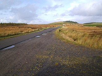 A836 road - Image: The A836 Road to Altnaharra geograph.org.uk 70330