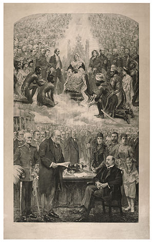 Commonwealth Day - The Assumption of Queen Victoria, 1901
