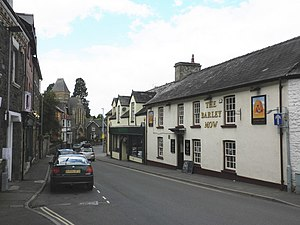English: The Barley Mow, Builth Wells
