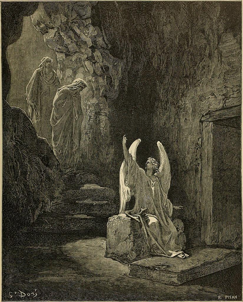 부활하신 예수님 (귀스타브 도레, Gustave Dore, 1866년)