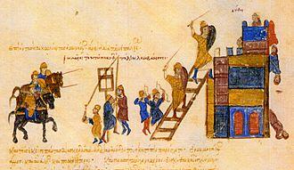 Samuel of Bulgaria - The Byzantines seize the capital Preslav.