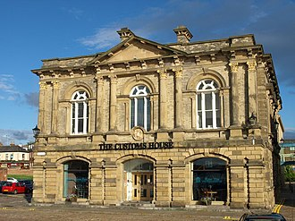 Customs House, South Shields - Image: The Customs House, South Tyneside geograph.org.uk 958781