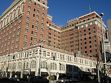 Kirtland Cutter's Renaissance Revival-style Davenport Hotel, widely considered his magnus opus