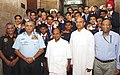 The Defence Minister, Shri A. K. Antony felicitated the Armed Forces sportspersons who won Medals at the Commonwealth Games 2010, at a function, in New Delhi on October 15, 2010.jpg