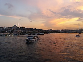 Golden Horn - The Golden Horn as seen from Galata Bridge