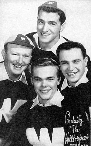 The Hilltoppers (band) - circa 1954