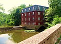 The Lake Carnegie dam at The Kingston Gristmill, Princeton, NJ, USA - panoramio.jpg