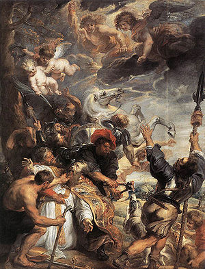 The Martyrdom of St Livinus by Rubens