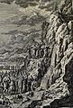 The Phillip Medhurst Picture Torah 411. Moses striking the rock. Exodus cap 17 vv 1&6. Winckler.jpg
