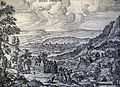 The Phillip Medhurst Picture Torah 94. Abraham & the Angels. Genesis cap 18 v 2. Borcht.jpg