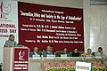 The President, Dr. A.P.J. Abdul Kalam addressing the two day International Symposia on Media Matters, organised by the Press Council of India (PCI) on the National Press Day, in New Delhi on November 16, 2006.jpg