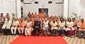 The President, Shri Ram Nath Kovind at the 66th Convocation of Maharaja Sayajirao University of Baroda, in Gujarat.jpg